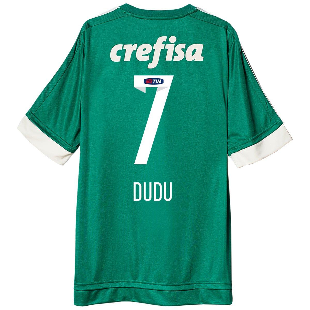 Camisa Adidas Palmeiras I 15 16 nº 7 - Dudu - Compre Agora  ec22a549c3f28