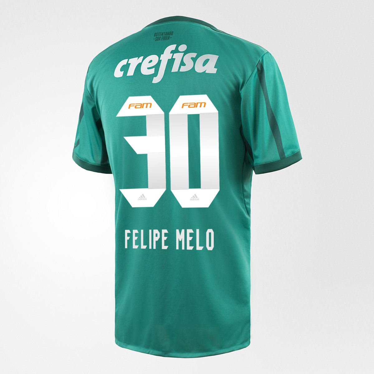 Camisa Adidas Palmeiras I 17 18 N° 30 - Felipe Melo - Compre Agora ... 003182367c6c4