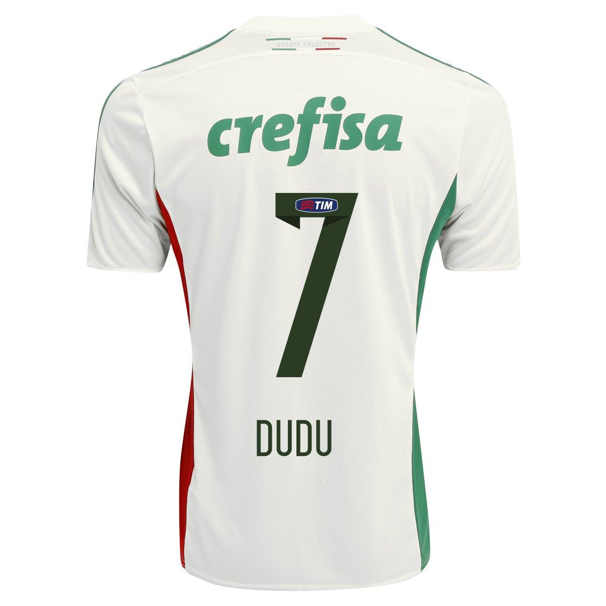 Camisa Adidas Palmeiras II 15 16 nº 7 - Dudu - Compre Agora  98df15556497d