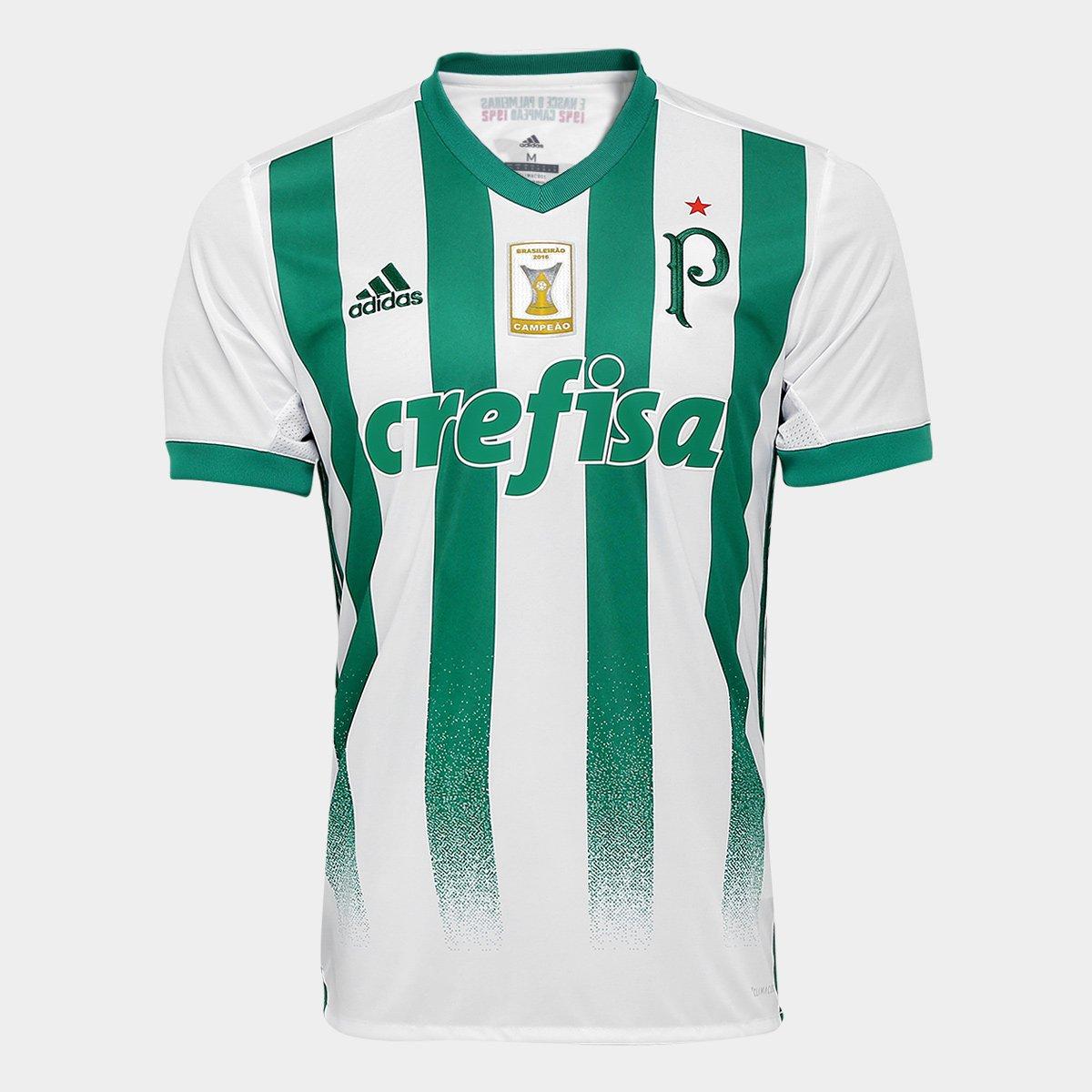 Camisa Adidas Palmeiras II 17 18 S Nº - Torcedor - Patch Campeão Brasileiro  Masculina - Compre Agora  0909b469ade5a