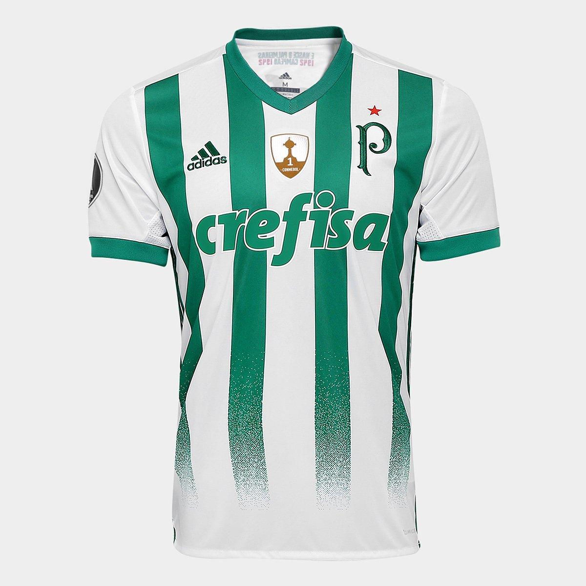 Camisa Adidas Palmeiras II 17 18 S Nº - Torcedor - Patch Libertadores -  Compre Agora  4a7fb7f243d0e