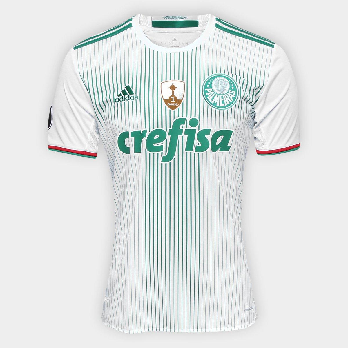 9f926f1ab249e Camisa Adidas Palmeiras II 2016 S Nº - Torcedor - Patch Libertadores -  Compre Agora