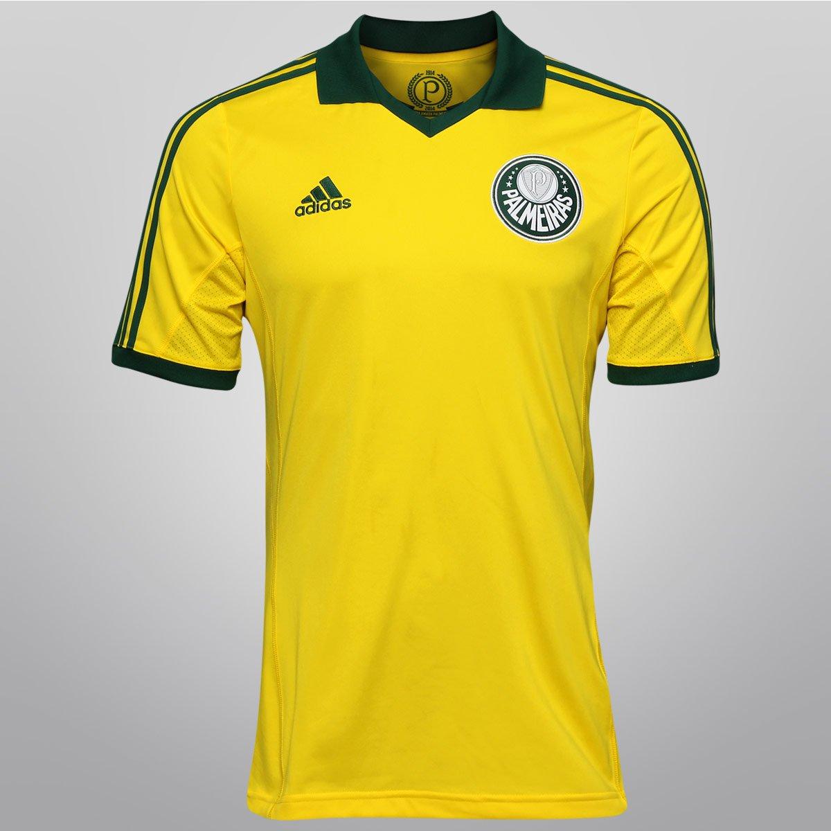 4570b80465 Camisa Adidas Palmeiras III 13 14 s nº - Centenário - Compre Agora ...