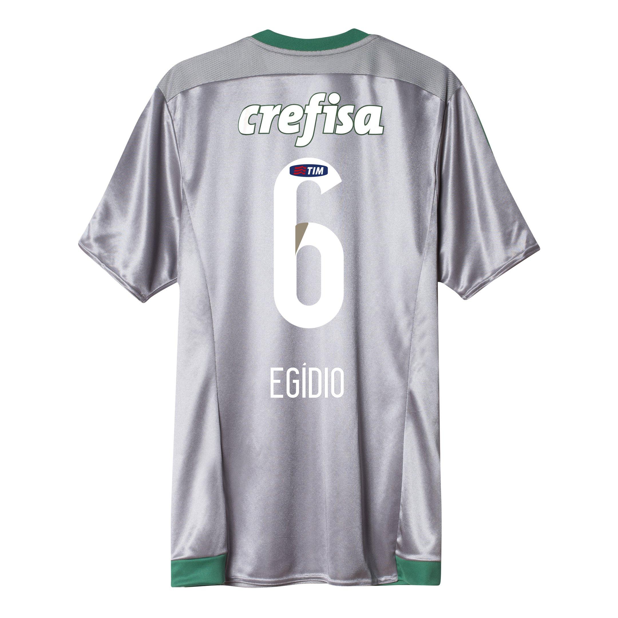 Camisa Adidas Palmeiras III 15 16 nº 6 - Egídio - Compre Agora ... 3e1eddeb9b75a