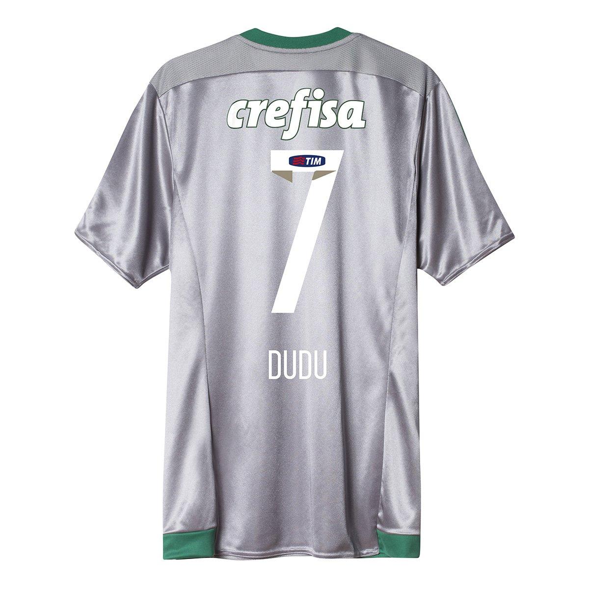 Camisa Adidas Palmeiras III 15 16 nº 7 - Dudu - Compre Agora  238347f3c1b43