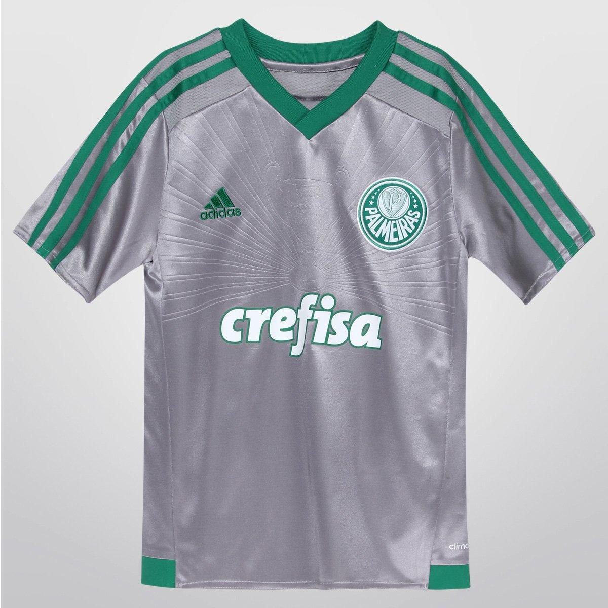 Camisa Adidas Palmeiras III 15 16 s nº Juvenil - Compre Agora  680e787c5d9b0