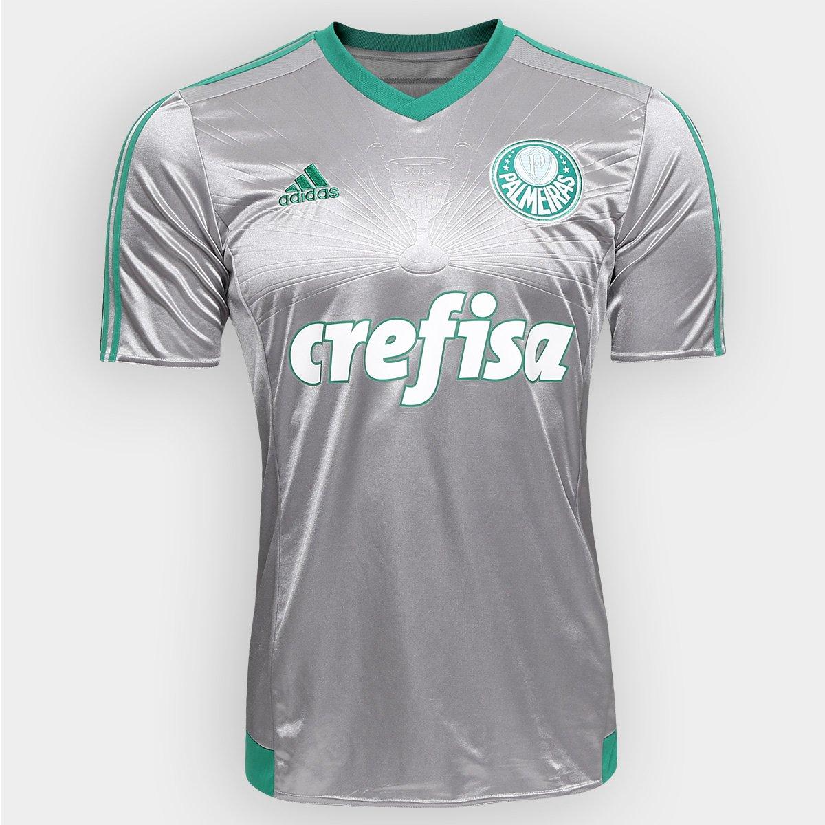 Camisa Adidas Palmeiras III 2015 s nº - Torcedor - Compre Agora ... e176794a6b982