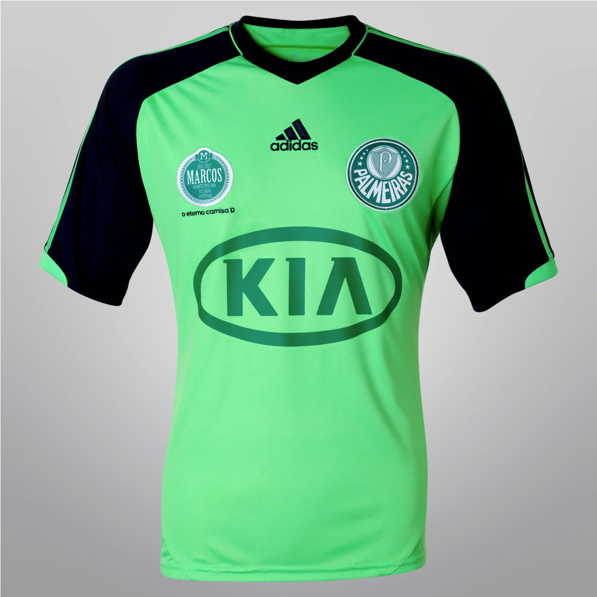 4dffdb39c6 Camisa Adidas Palmeiras nº 12 - Marcos o Eterno - Compre Agora ...