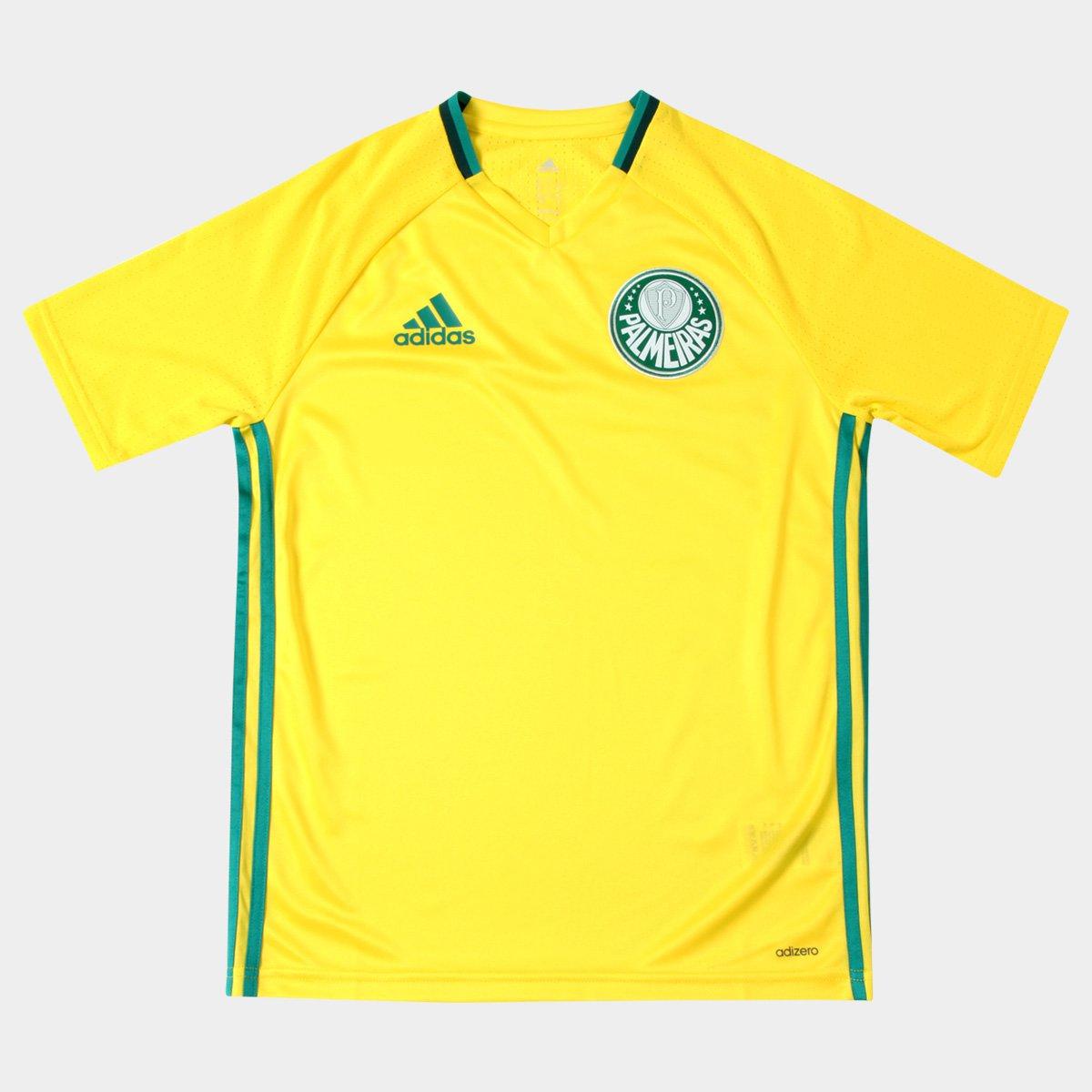 86c6e26f07 Camisa Adidas Palmeiras Treino 2016 Infantil - Compre Agora