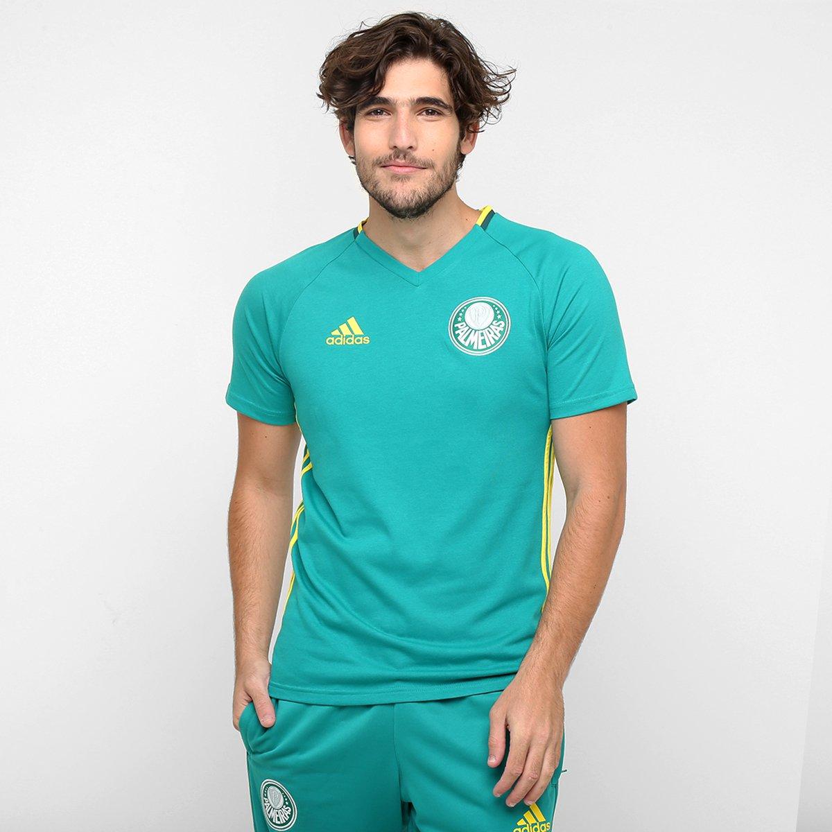 bfc3903389792 Camisa Adidas Palmeiras Viagem - Compre Agora