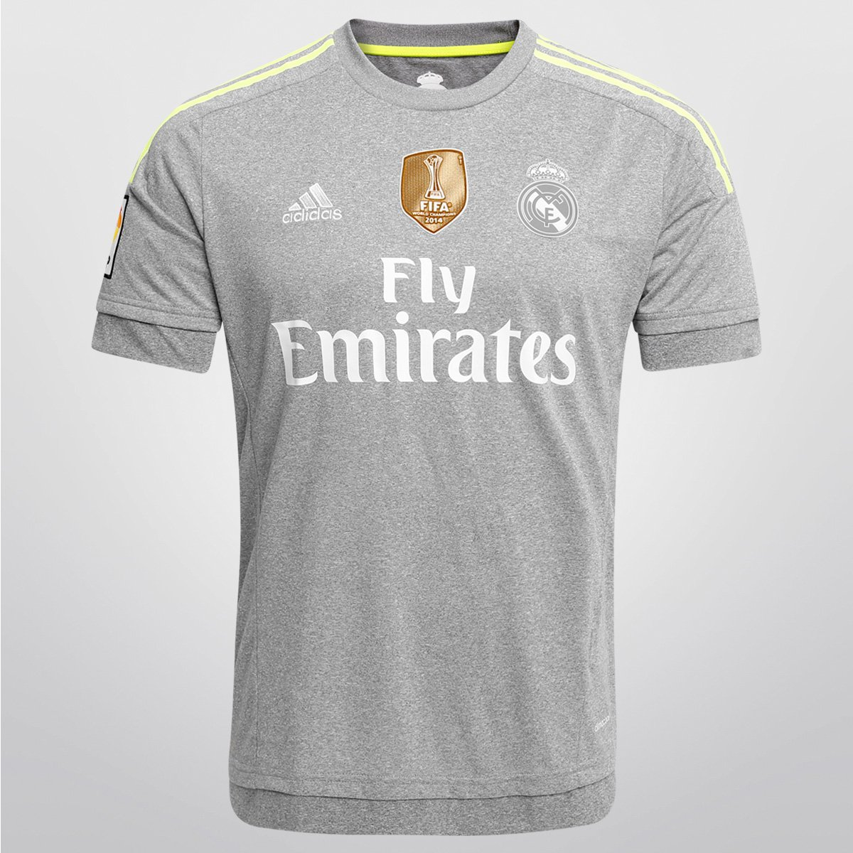dec45def08310 Camisa Adidas Real Madrid Away 15 16 s nº - Patch Mundial - Compre Agora
