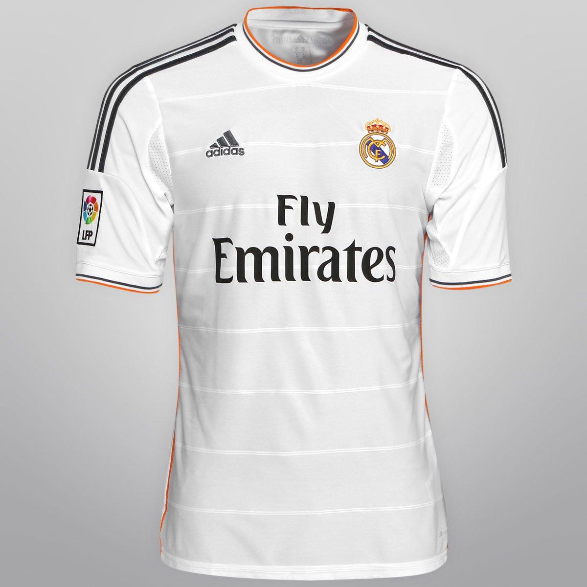 Camisa Adidas Real Madrid Home 13 14 s nº - Compre Agora  86e69012ac30b
