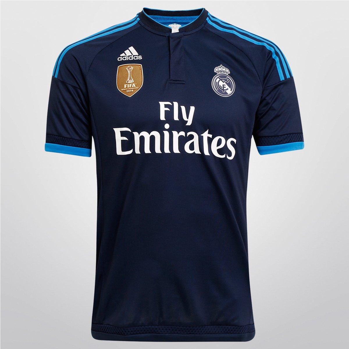 Camisa Adidas Real Madrid Third 15 16 s nº - Compre Agora  708a555376b27