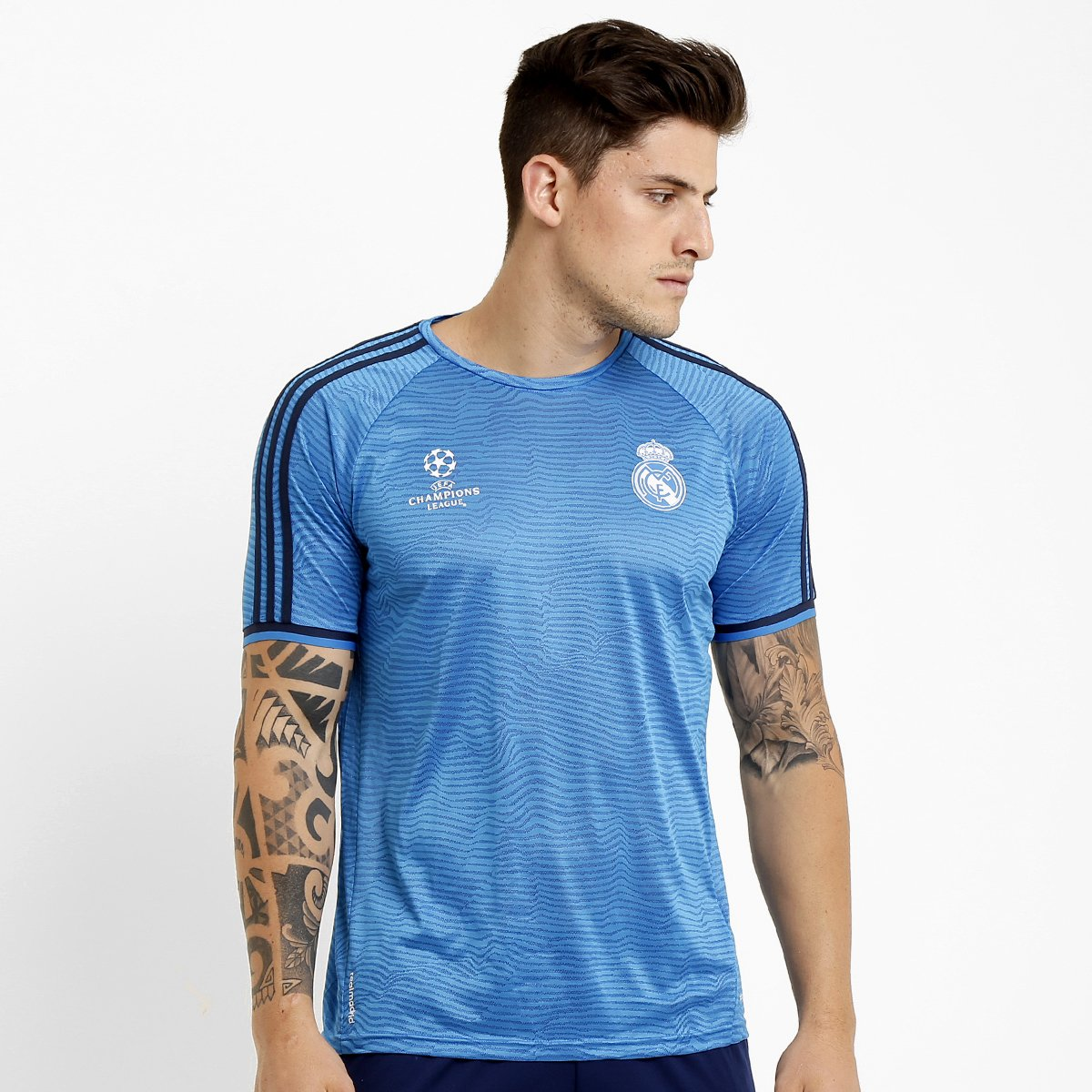 ee14b5fac0 Camisa Adidas Real Madrid Treino 2015 UCL - Compre Agora