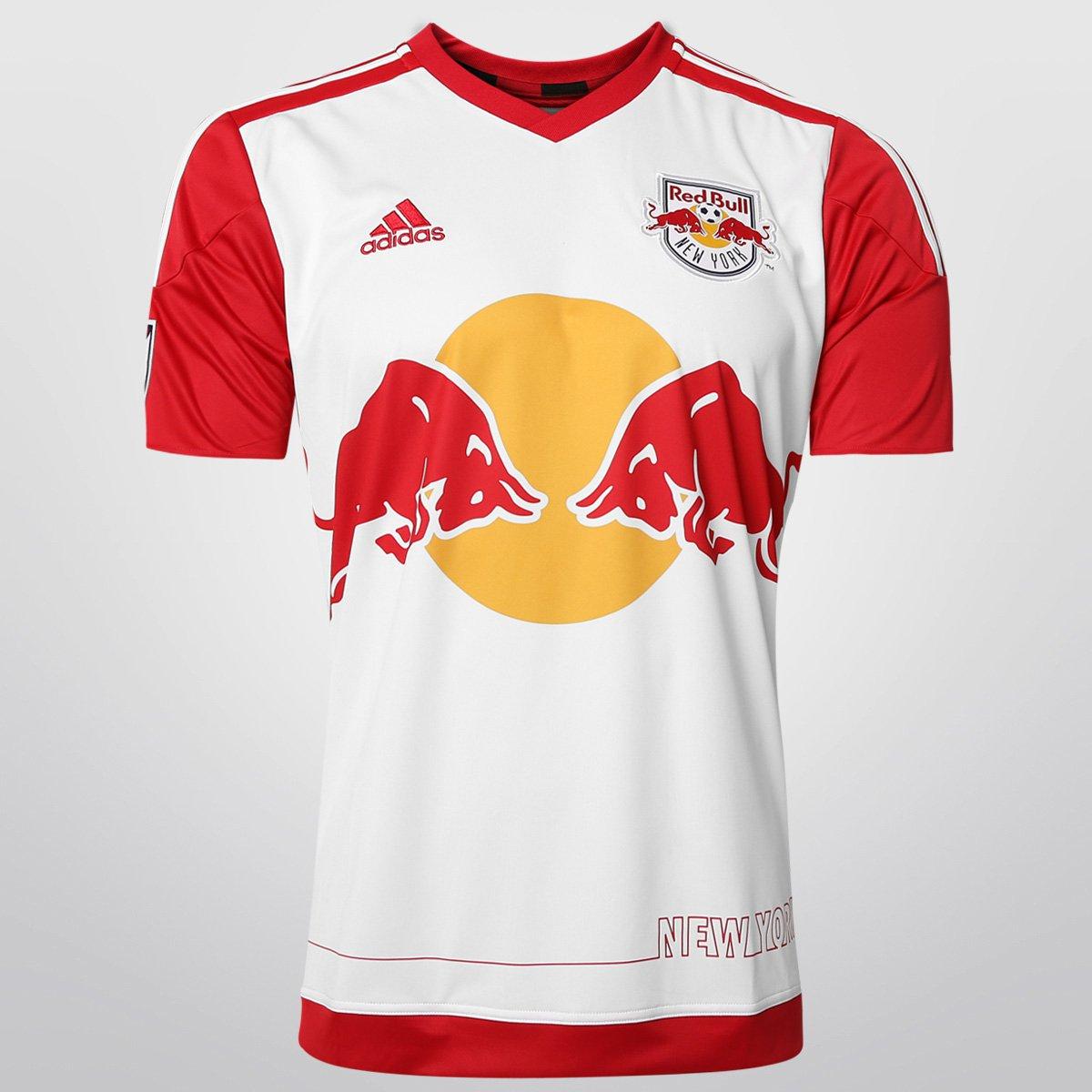 al límite salvar cobertura  Camisa Adidas Red Bull New York Home 15/16 s/nº   Netshoes