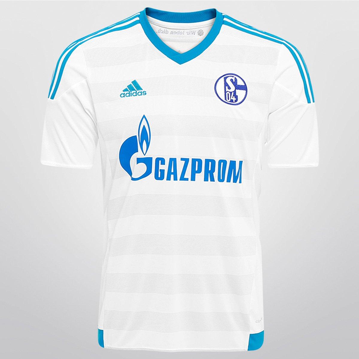 8bfe1d0e8d Camisa Adidas Schalke 04 Away 15 16 s nº - Compre Agora
