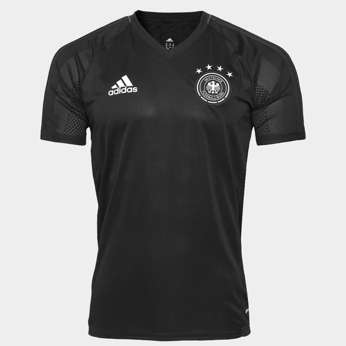 50d635f0dc Camisa Adidas Seleção Alemanha 17 18 Treino - Compre Agora
