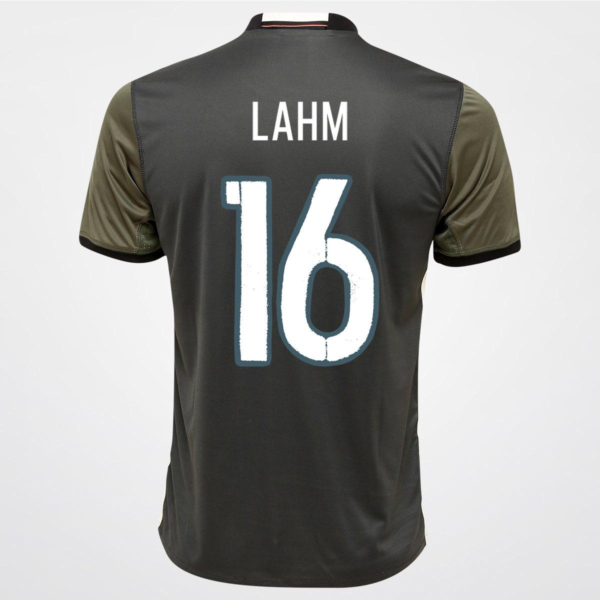 Camisa Adidas Seleção Alemanha Away 2016 nº 16 - Lahm - Compre Agora ... 4d8f25b059e95