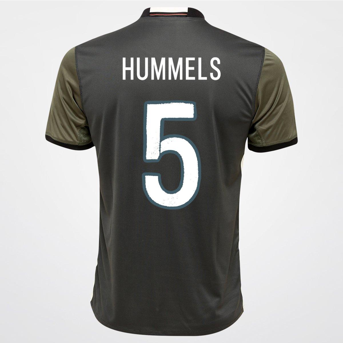 Camisa Adidas Seleção Alemanha Away 2016 nº 5 - Hummels - Compre Agora  1fa98c8076c33
