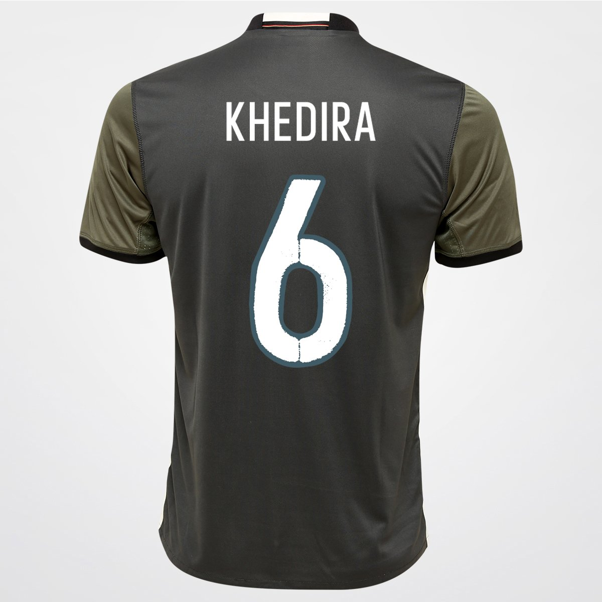 Camisa Adidas Seleção Alemanha Away 2016 nº 6 - Khedira - Compre Agora  b9b085748af3e