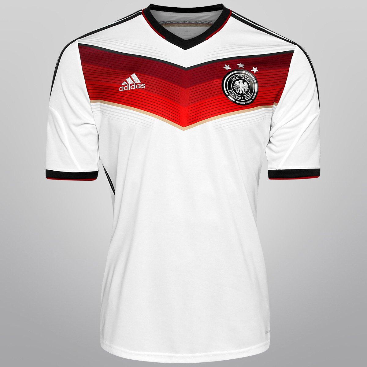 Camisa Adidas Seleção Alemanha Home 2014 s nº - Torcedor - Compre Agora  0e00bbeb86e7b