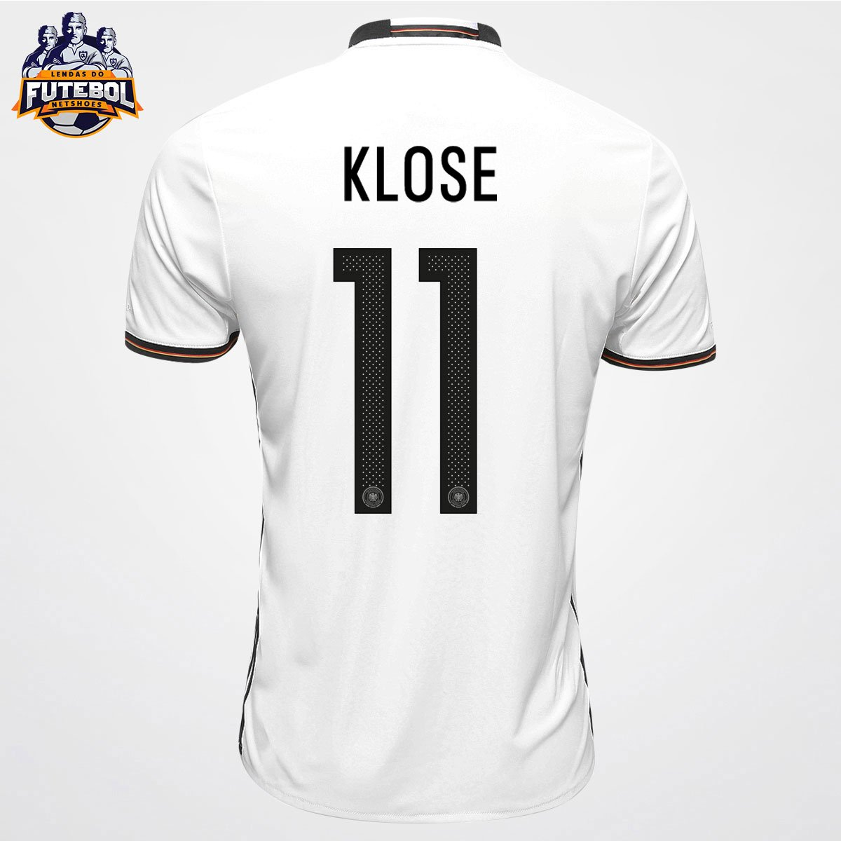 fa144a446d Camisa Adidas Seleção Alemanha Home 2016 nº 11 - Klose - Compre Agora
