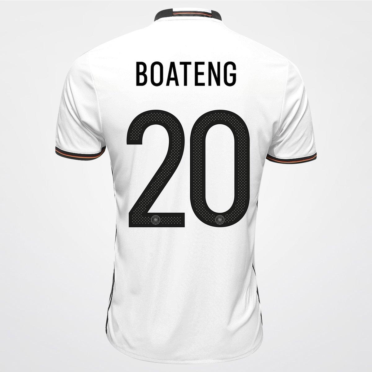 Camisa Adidas Seleção Alemanha Home 2016 nº 20 - Boateng - Compre Agora  4aa8e35a75c06