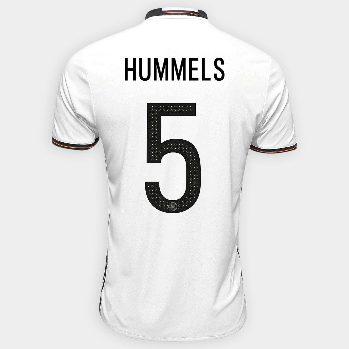 2e40c7386a Camisa Adidas Seleção Alemanha Home 2016 nº 5 - Hummels - Compre Agora