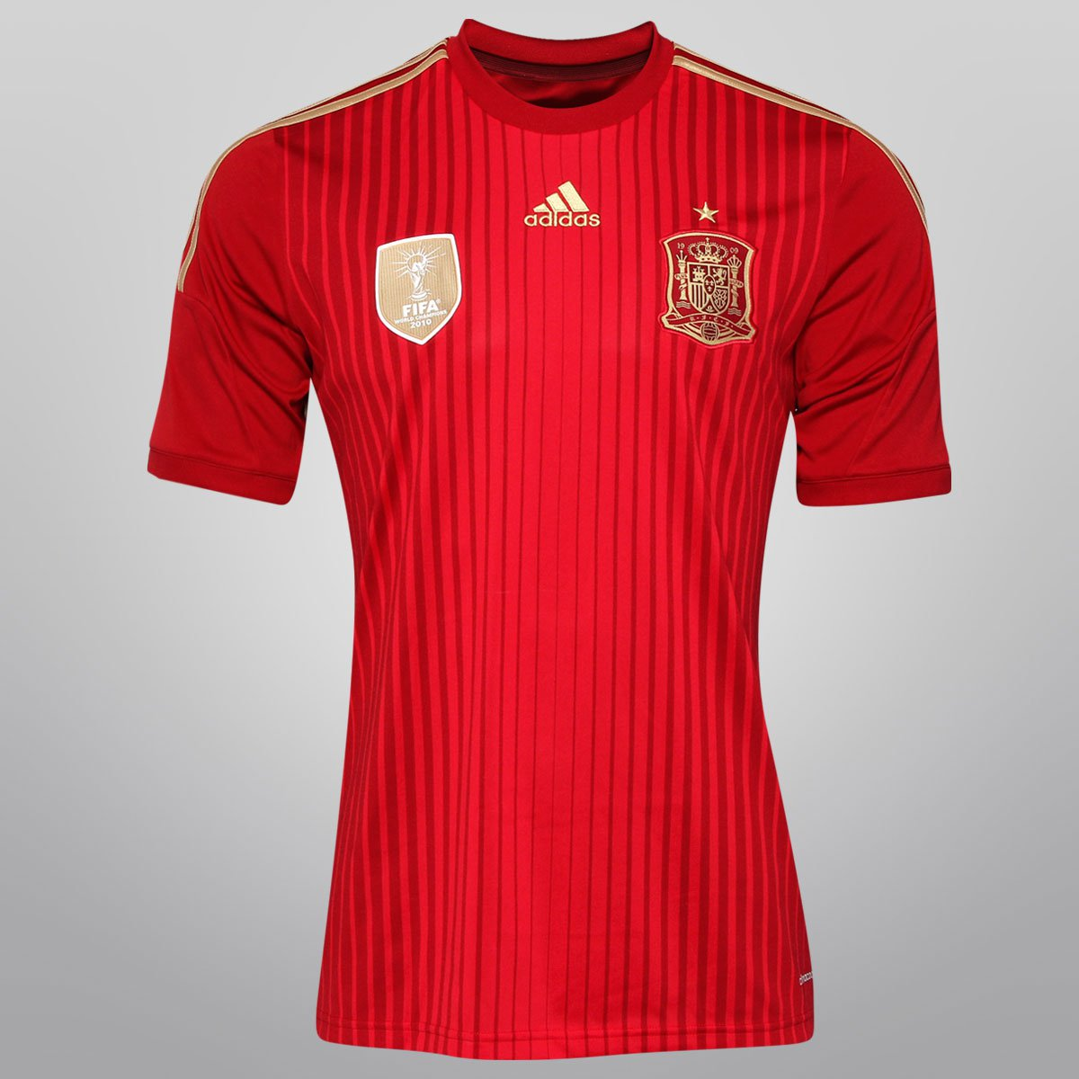 Camisa Adidas Seleção Espanha Home 2014 s nº - Torcedor - Compre Agora  e09553b70c1fa