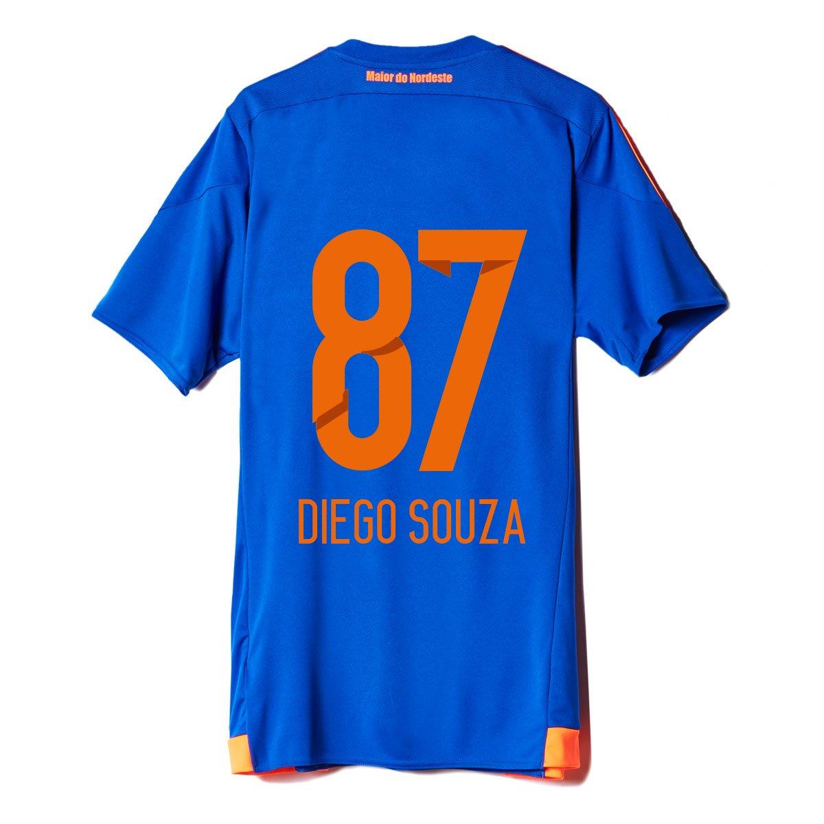 a5cbf8e224 Camisa Adidas Sport Recife III 15 16 nº 87 - Diego Souza - Compre Agora