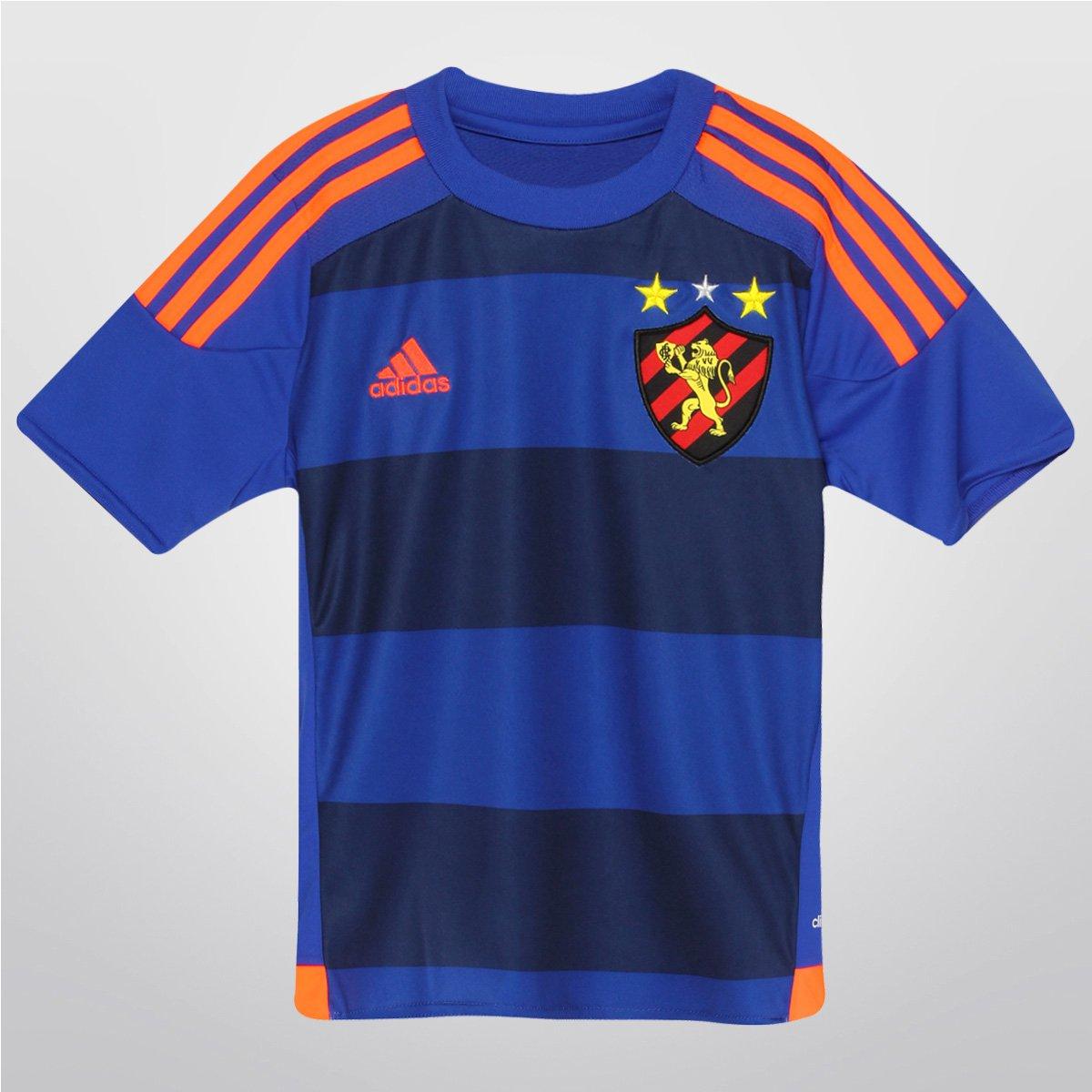 be2ec5ada4 Camisa Adidas Sport Recife III 15 16 s nº Infantil - Compre Agora ...