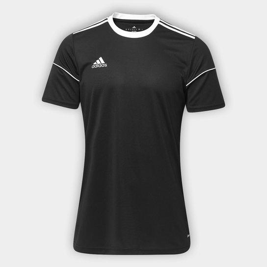 Camisa Adidas Squadra 17 Masculina - Preto