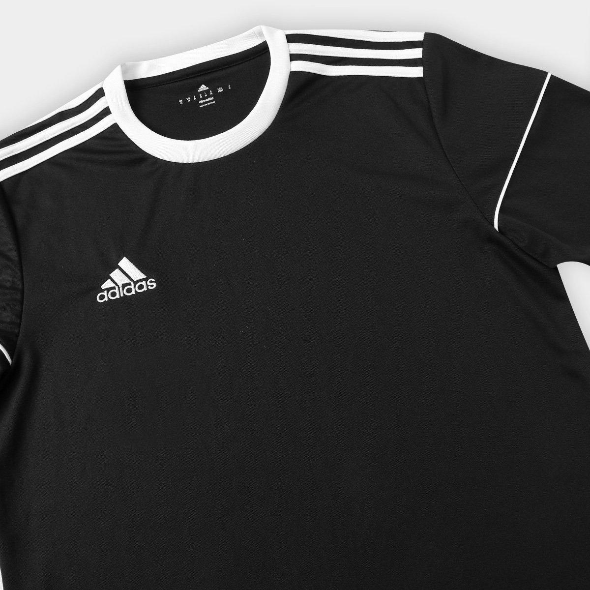 6ea56d7d51 Camisa Adidas Squadra 17 Masculina - Preto - Compre Agora
