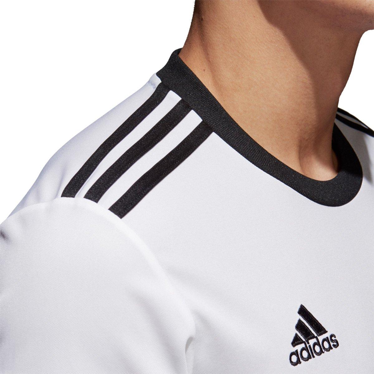 9b394c35e4 Camisa Adidas Squadra 17 Masculina - Branco e Preto - Compre Agora ...