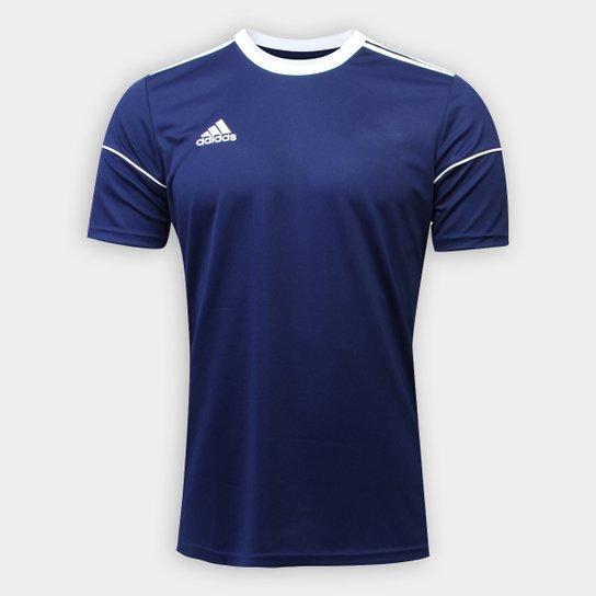 Camisa Adidas Squadra 17 Masculina - Marinho+Branco