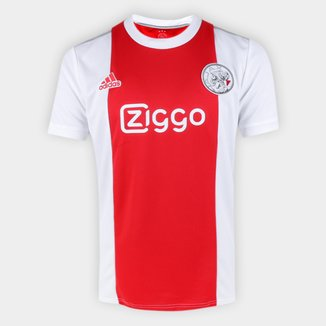 Camisa Ajax Home 21/22 s/n° Torcedor Adidas Masculina