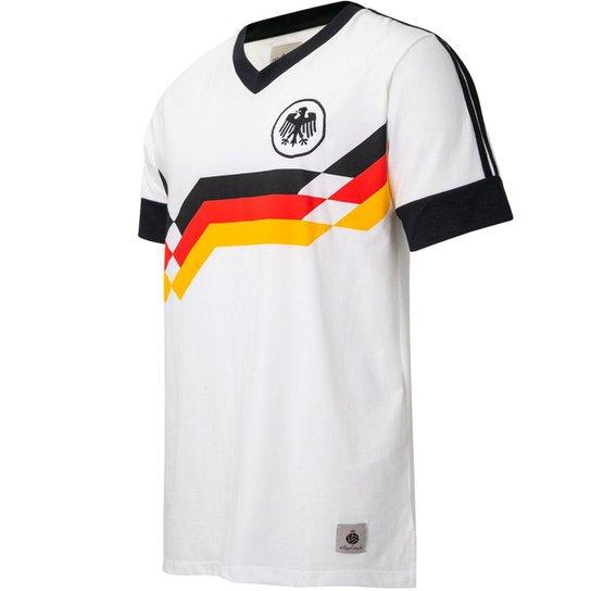 Camisa Alemanha Retrô 1990 Masculina - Branco