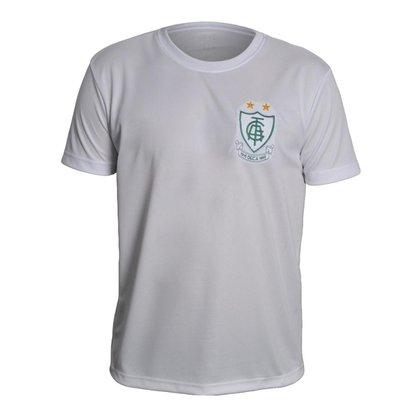 Camisa América Mineiro 2021 Vintage Branca Oficial