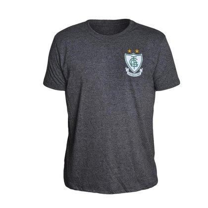 Camisa América Mineiro 2021 Vintage Preta Oficial