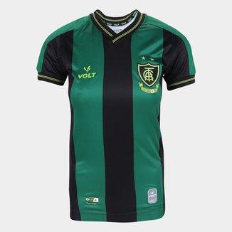 Camisa América Mineiro I 21/22 s/nº Torcedor Volt Feminina
