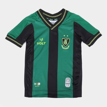 Camisa América Mineiro Infantil I 21/22 s/n° Torcedor Volt