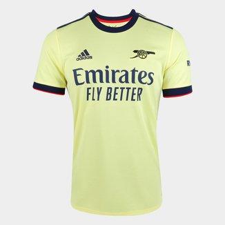 Camisa Arsenal Away 21/22 s/n° Torcedor Adidas Masculina