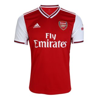 Camisa Arsenal Home 19/20 s/nº Torcedor Adidas Masculina
