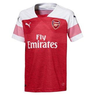Camisa Arsenal Infantil Home 2018 s/n° Torcedor Puma