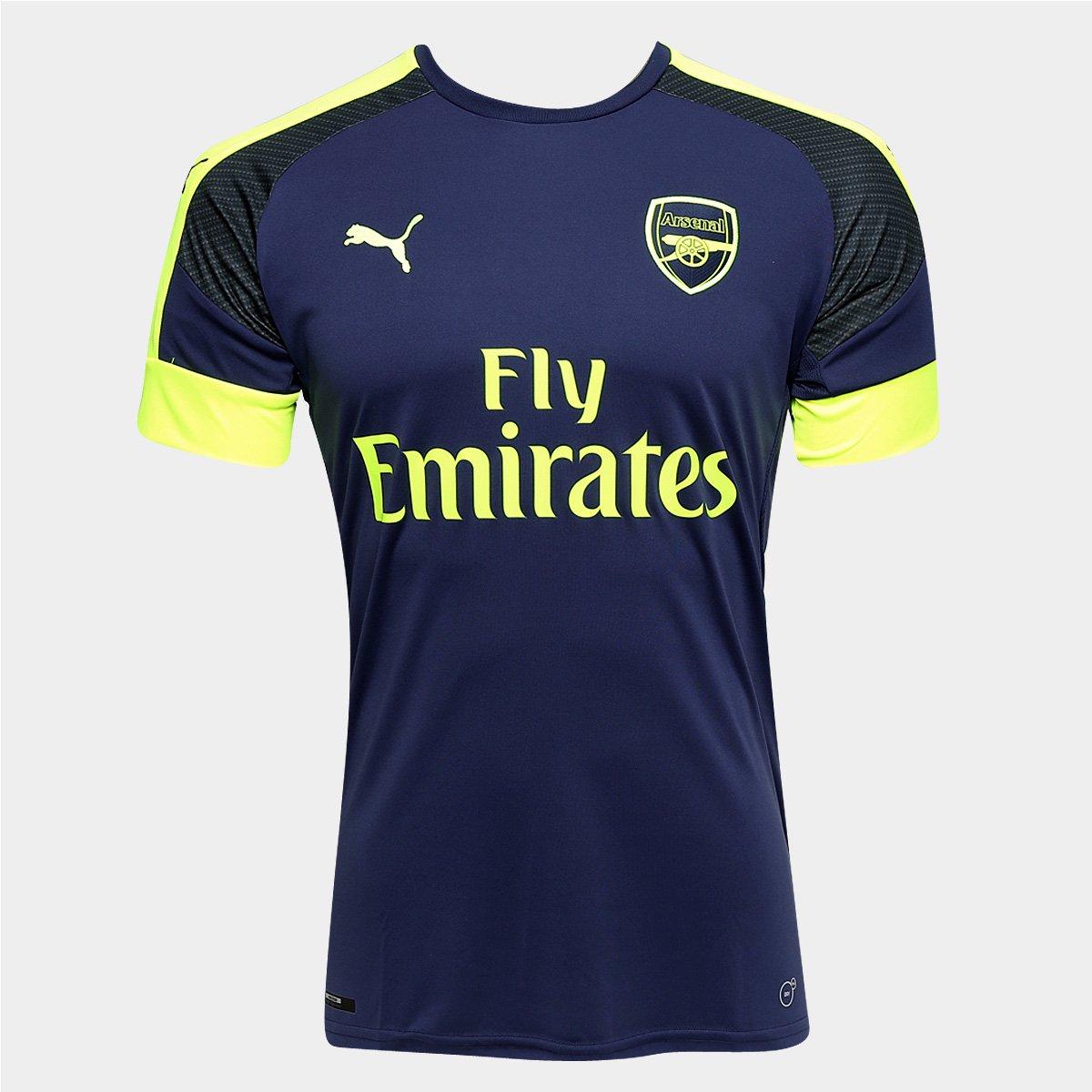 Camisa Arsenal Third 16 17 s nº Torcedor Puma Masculina - Compre Agora  ee2e7d34f318d