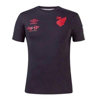 Camisa Athletico Paranaense 2021 Concentração Oficial  S/N