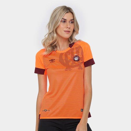 Camisa Athletico-PR II 17/18 nº 10 - Torcedor Umbro Feminina - Branco+Vermelho