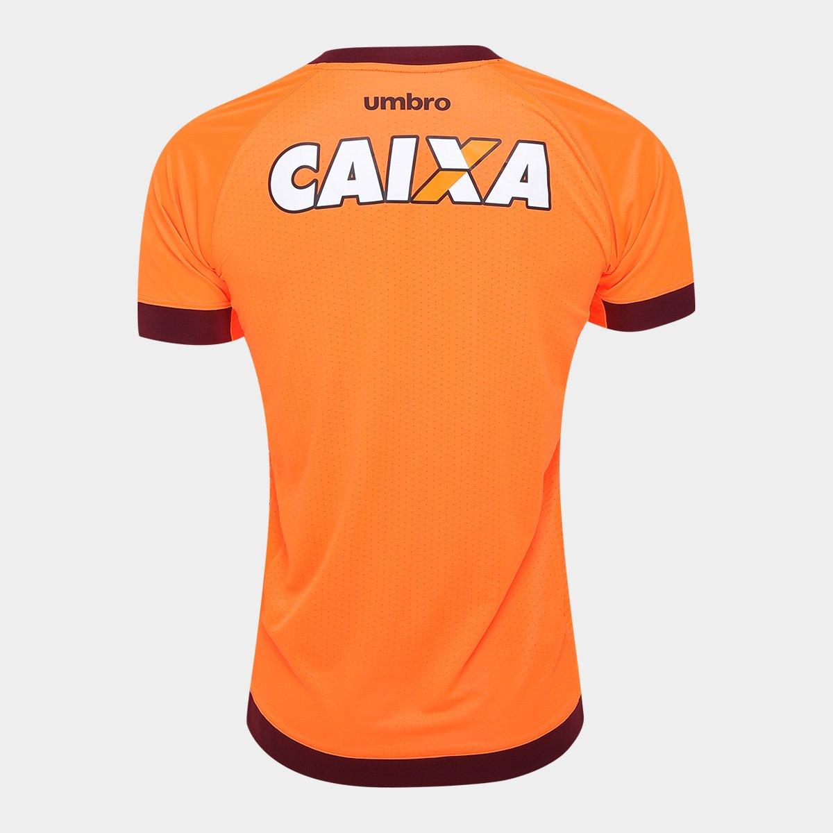 Camisa Athletico-PR II 17 18 s nº Torcedor Umbro Masculina - Laranja ... f715a70638976