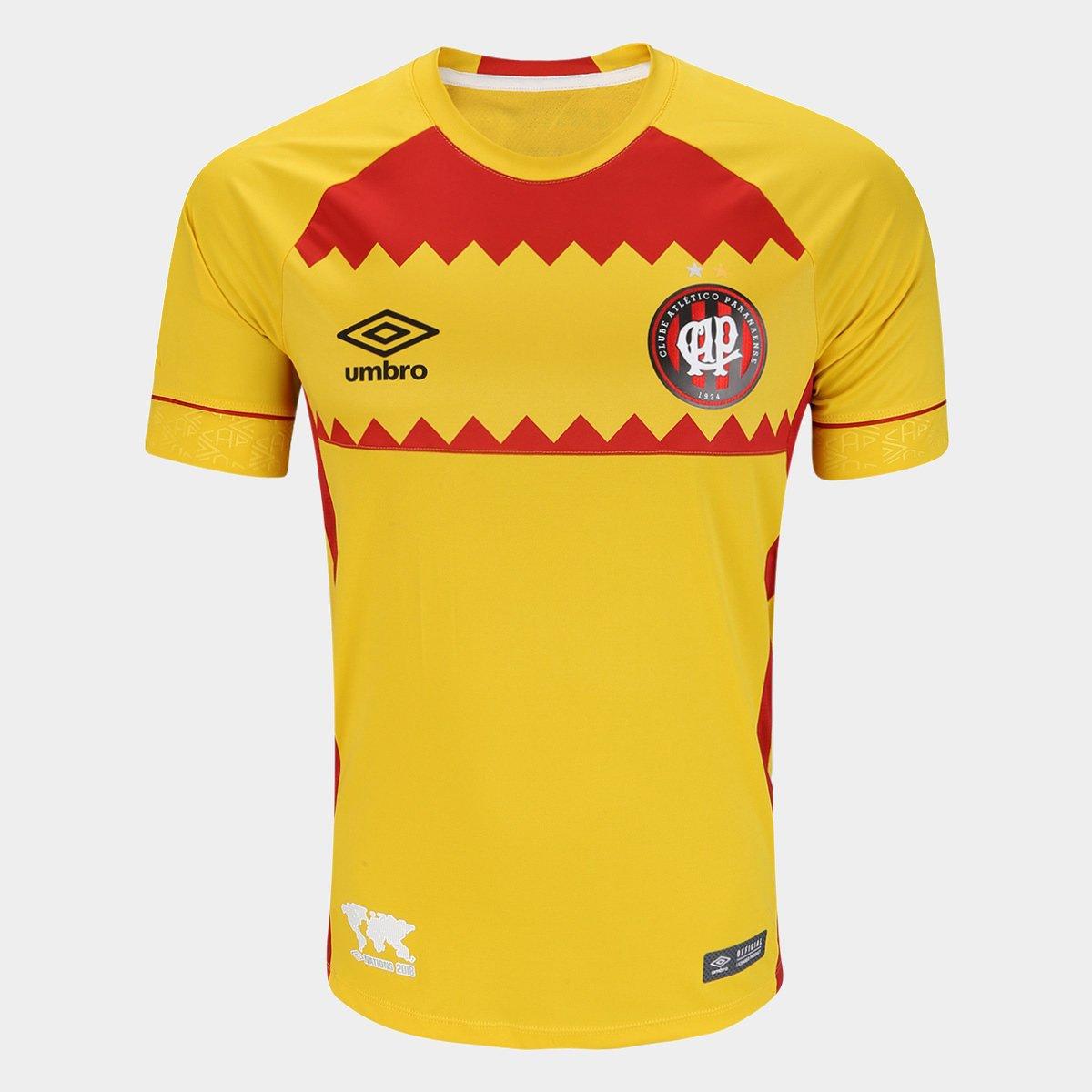 ff85830345 Camisa Athletico-PR II 2018 s n° El Huracan Torcedor Umbro Masculina -  Compre Agora