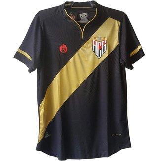 Camisa Atlético Clube Goianiense Gold Edition 2021 Dragão